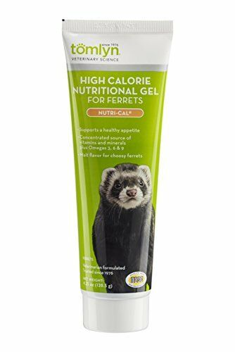 Tomlyn High Calorie Nutritional Gel for Ferrets (Nutri-Cal) 4.25 oz