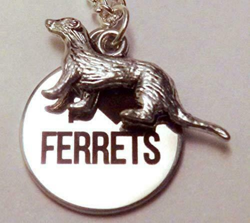 Ferret Lover Necklace 1390