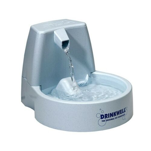 Drinkwell ORIGINAL PET FOUNTAIN Holds 1.5L, Adjustable Flow Control