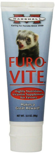 MARSHALL - Furo-vite Highly Nutritious Ferret Vitamin Supplement - 3.5 oz (100g)