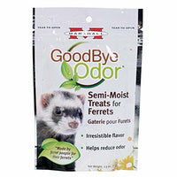 Marshall 41683 Goodbye Odor Semi-Moist Treats for Ferrets, 2.5 oz