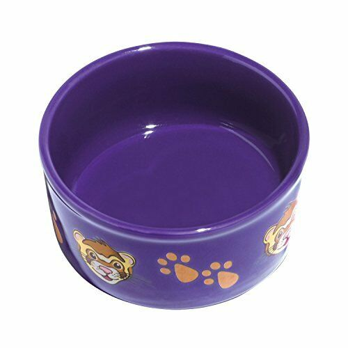 Kaytee Paw-Print Petware Bowl, Ferret, Colors Vary