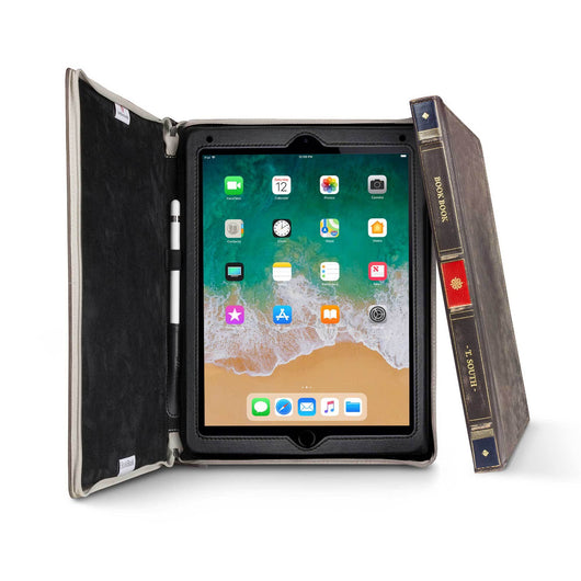 BookBook for iPad & iPad Pro, Hardback leather case - Twelve South
