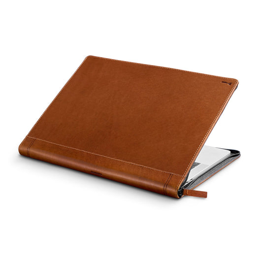 Journal for MacBook, Luxury leather case with document storage - Twelve South