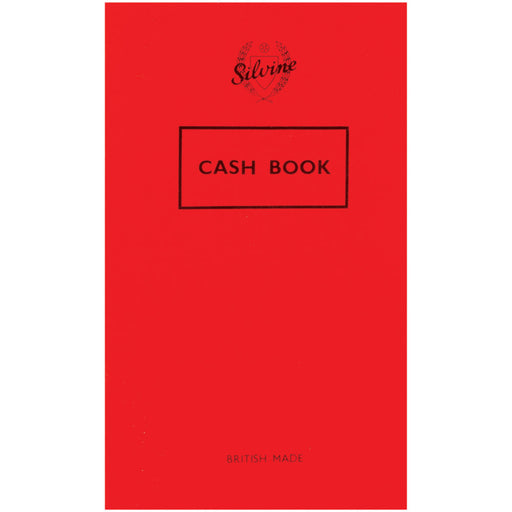 Cash Book 159x95mm 36 Leaf