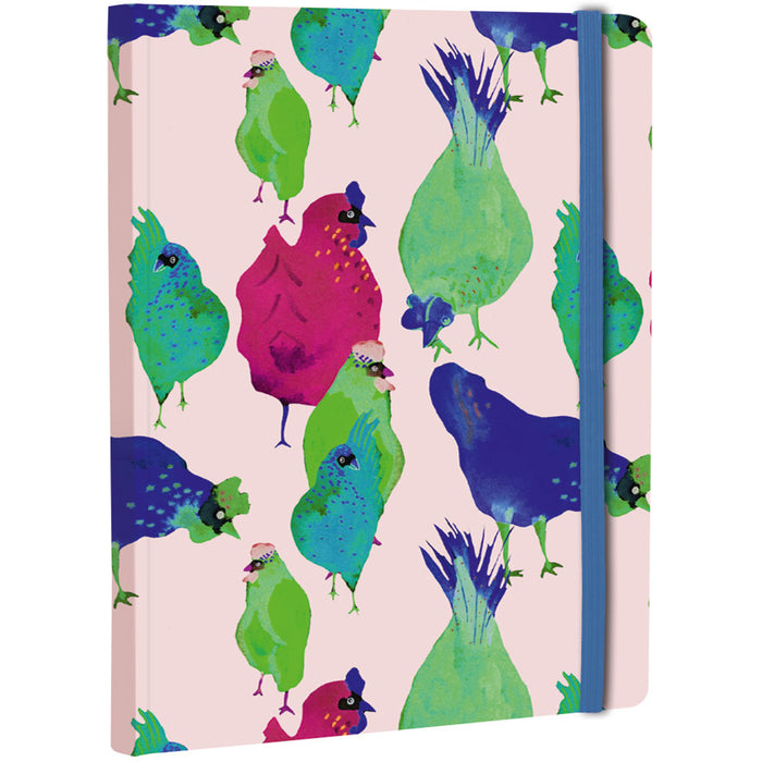 Les Coquettes A5 Hardcover Notebook