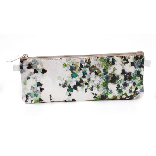 Hedera Faux Leather Flat Pencil Case