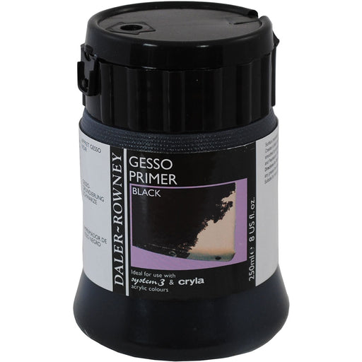 Black Gesso Primer 250ml