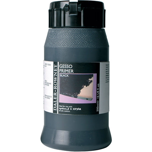 Black Gesso Primer 500ml