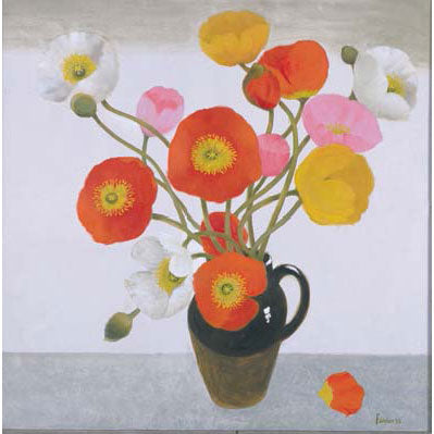 Mary Fedden Obe Ra - Poppies