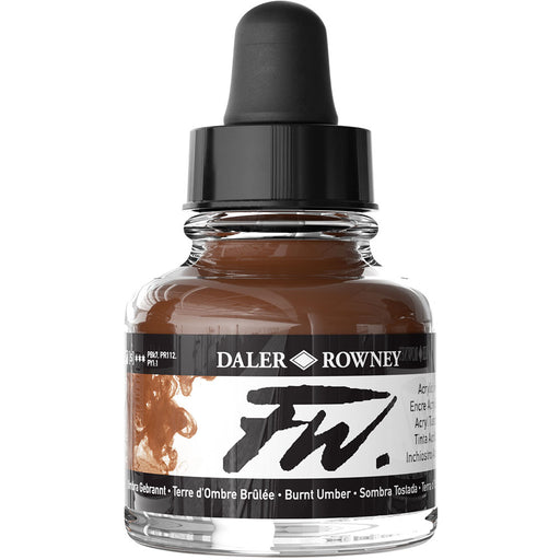FW Ink 29.5ml Burnt Umber