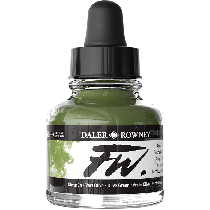 FW Ink 29.5ml Olive Green