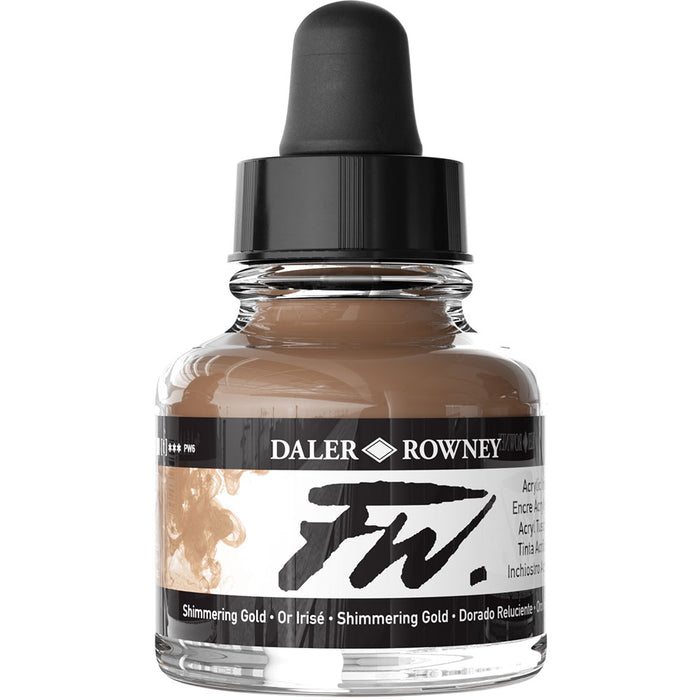 FW Ink 29.5ml Shimmering Gold
