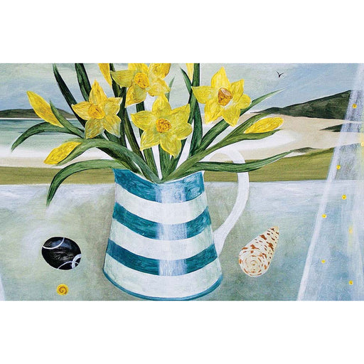 Sarah Bowman - Daffodils And Shells