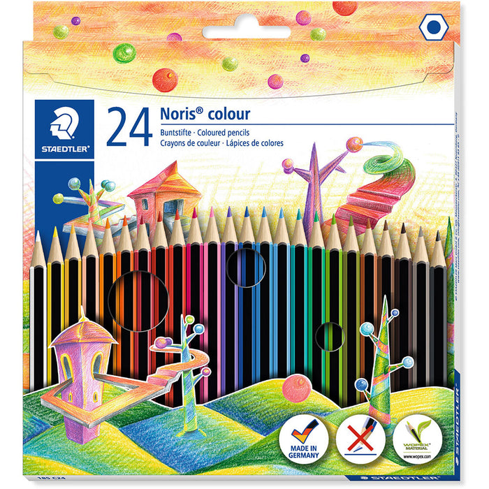 Noris Coloured Pencils Box 24