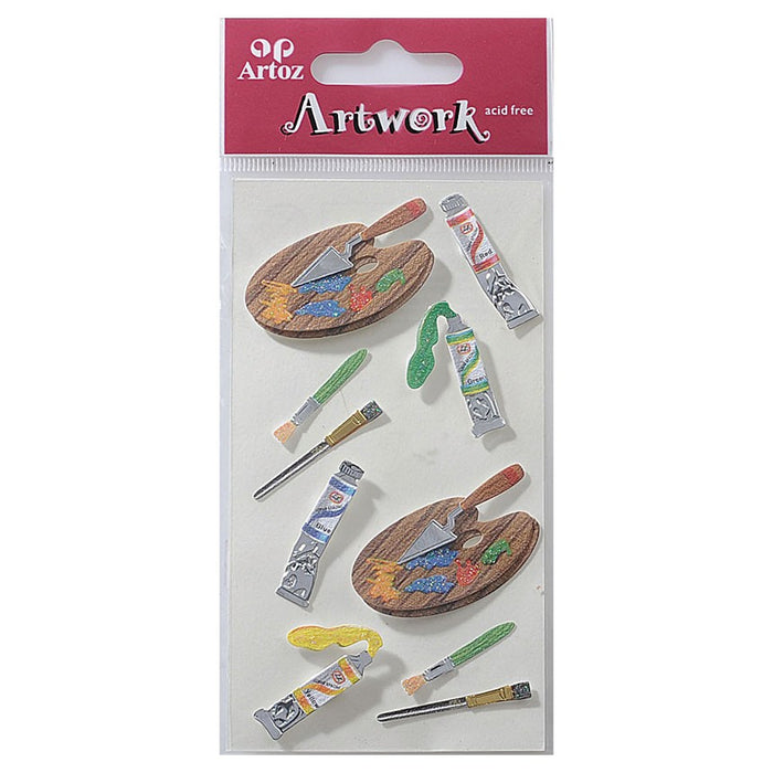 Artoz Art-work 3d Sticker Artist Accessories