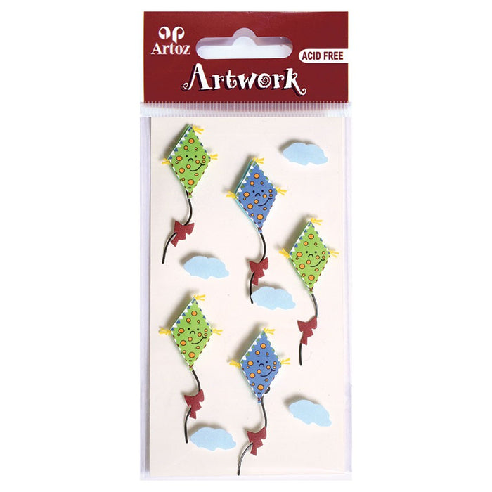 Artoz Art-work 3d Sticker Kite