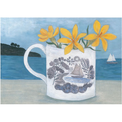 Debbie George - Ravilious Boat Cup And Crocus