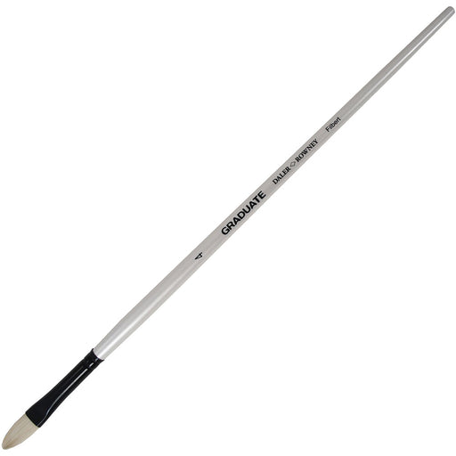 Graduate Bristle Filbert 4 Long Handle
