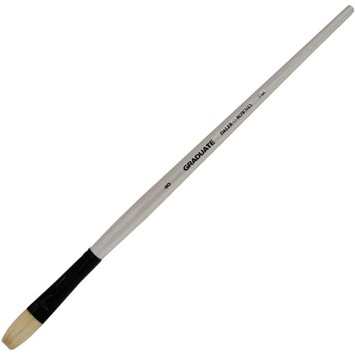 Graduate Bristle Flat 8 Long Handle