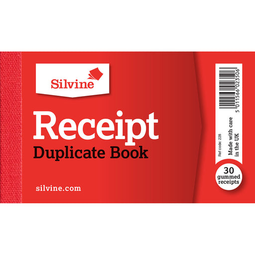 Receipt Book 63x106mm