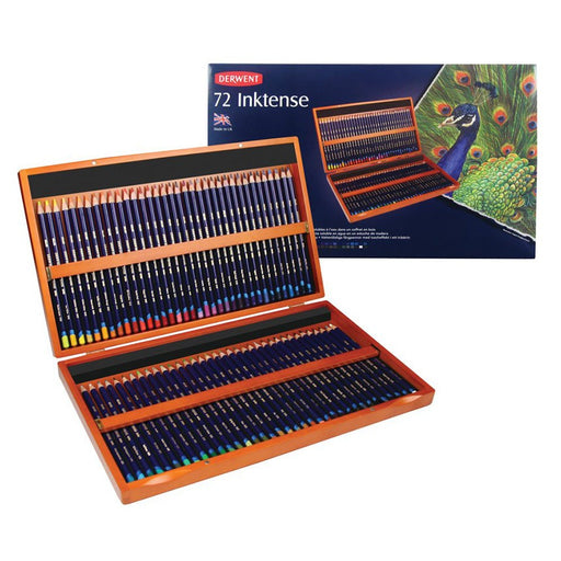 Derwent Inktense Wooden Box of 72