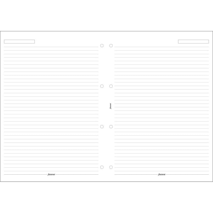 A4 White ruled notepaper