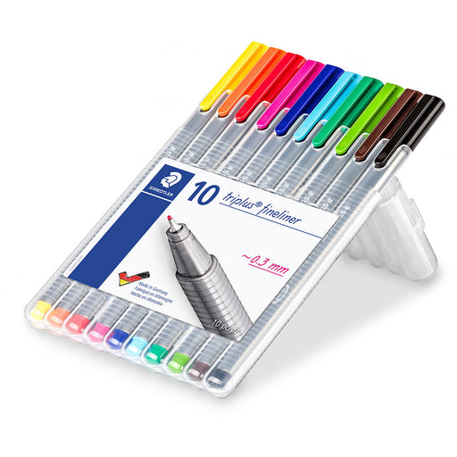Triplus Fineliner Case Of 10