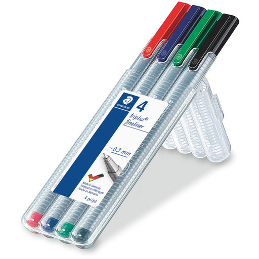 Triplus Fineliner Desktop Box of 4