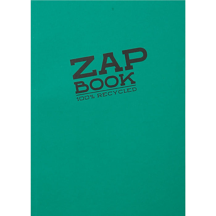 Zap Book Glued Recycled Sketch Pad A5