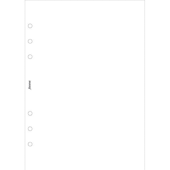 A5 White plain notepaper