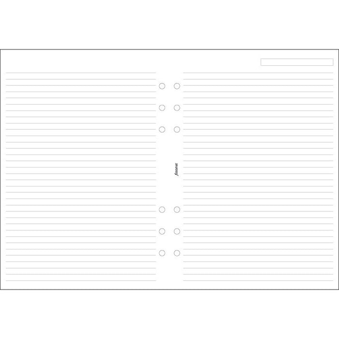 A5 White ruled notepaper