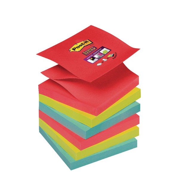 Post-it Super Sticky Z 76x76mm Bora Bora 70-0051-9784-6