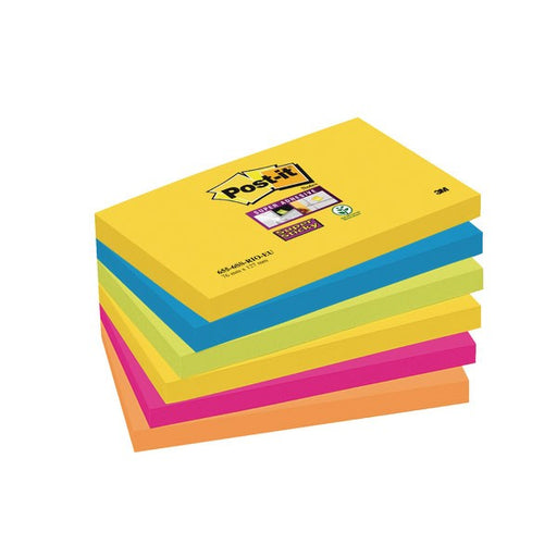 Post-it Super Sticky 76 x 127mm Rio 70-0052-5132-0