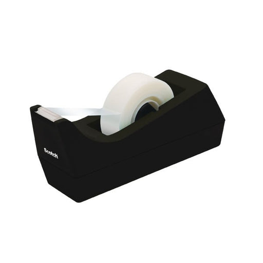 Scotch Desktop Tape Dispenser Black C38