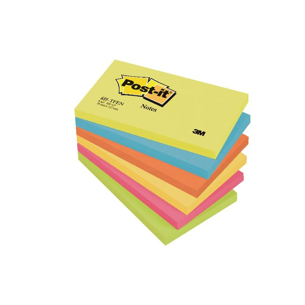 Post-it Notes 76 x 127mm Energy Colours 655TF