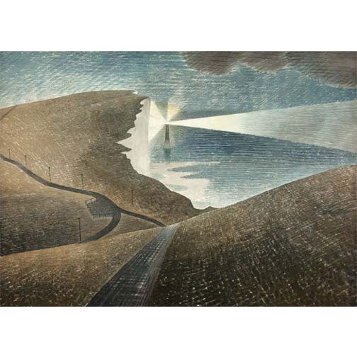 Eric Ravilious - Beachy Head