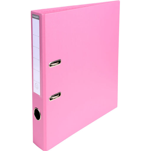 Lever Arch File A4 50mm Spine Pink