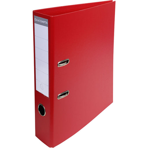 Lever Arch File A4 70mm Spine Red
