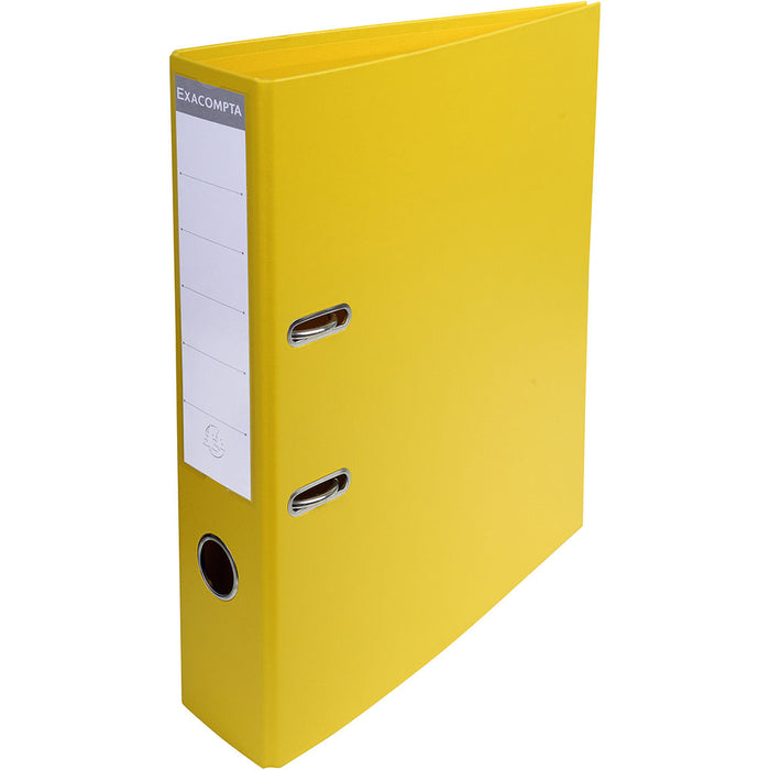 Lever Arch File A4 70mm Yellow