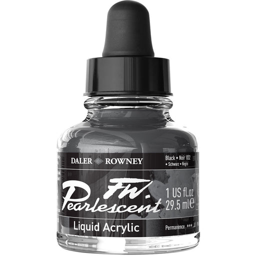 FW Pearlescent Ink 29.5ml Black