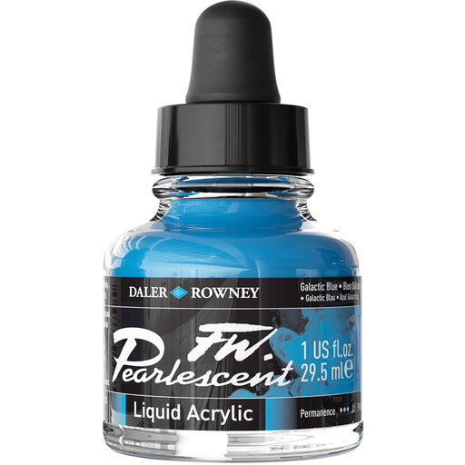 FW Pearlescent Ink 29.5ml Galactic Bl