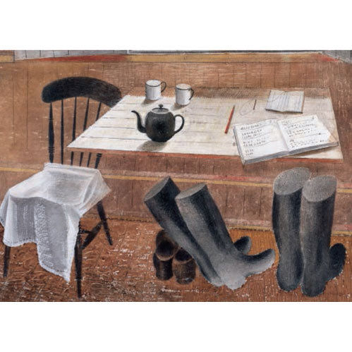 Eric Ravilious - Observer Corps Hut