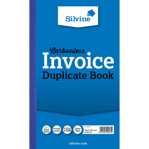 Carbonless Duplicate Inv Book Ruled