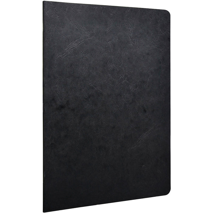 Age bag stapled notebook A4 Black