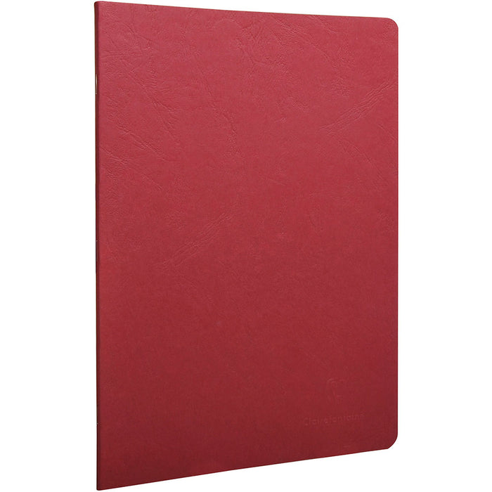 Age Bag Stapled Notebook A4 Red