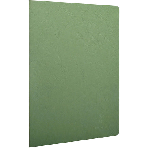 Age Bag Stapled Notebook A4 Green