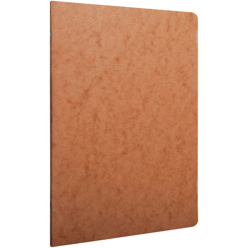 Age Bag Stapled Notebook A4 Brown