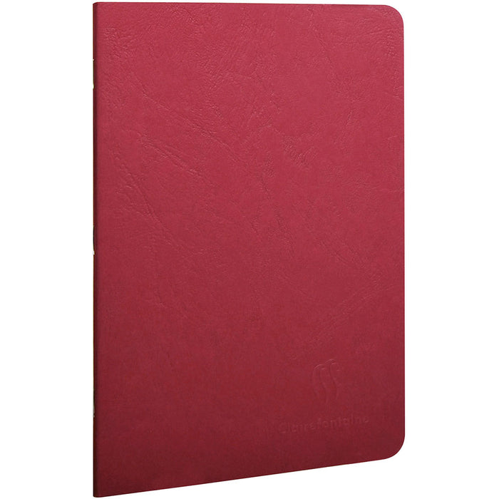 Age Bag Stapled Notebook A5 Red