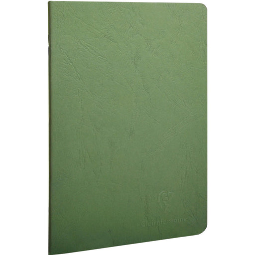 Age Bag Stapled Notebook A5 Green